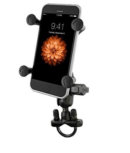 Bike Motorcycle Short Arm X-Grip Mount Holder Kit fits Cell