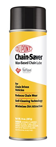 Chain Lubricant - DuPont Teflon Chain-Saver Dry Self-Cleaning Lubricant, 14-Ounce
