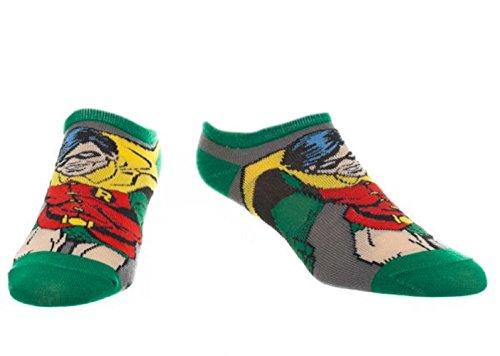 DC Comics Robin Active Performance Ankle Socks]()