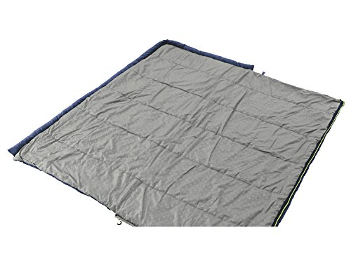 Outwell Contour Lux Adult Sleeping Bag with Double Blue - 225 x 150 x 60 CM, 230090 by Outwell by Outwell (Image #4)
