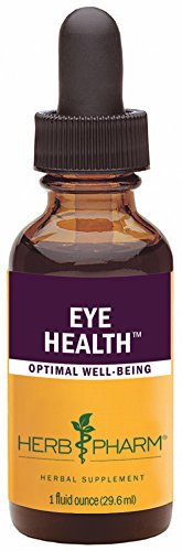 Extraits d'herbe Pharm Eye Health Herbal Formula avec myrtille et Goji - 1 once
