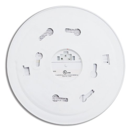 Kidde 1275 Hardwire Smoke Alarm with Hush Feature and Battery Backup (2 Pack) Model: 1275-2Pack