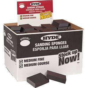 Hyde Mfg Co Hyde 49520 Irregular Sanding Block Box 100Pk - 100ct. Case
