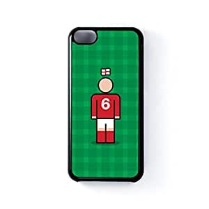England 6 Black Hard Plastic Case for Apple? iPhone 5C by Blunt Football International + FREE Crystal Clear Screen Protector