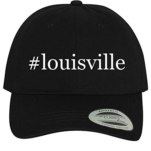 #Louisville - Comfortable Dad Hat Baseball Cap, Black