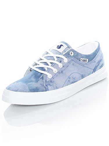Bleu Bleu Pinstripe Dvs 7 Chaussures Us Femme eu 38 Aversa qZfBBw