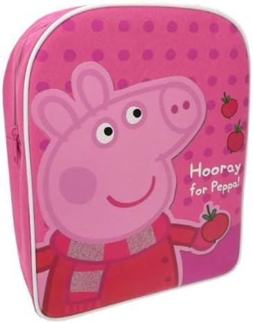 Peppa Pig Hooray for Peppa - Mochila Infantil: Amazon.es: Juguetes y juegos