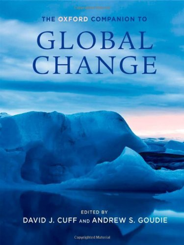Cuff Oxford (The Oxford Companion to Global Change (Oxford Companions))