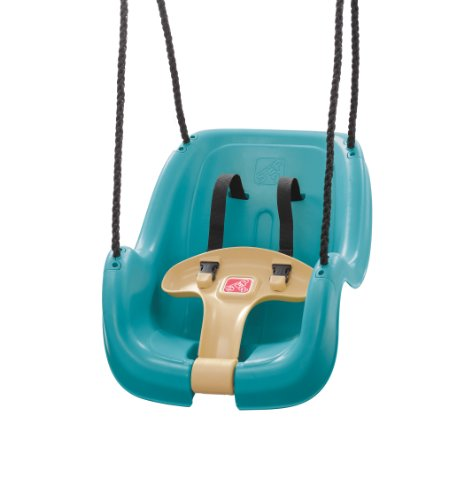 Step2 infant to toddler swing seat turquoise mypointsaver for Baby garden swing amazon