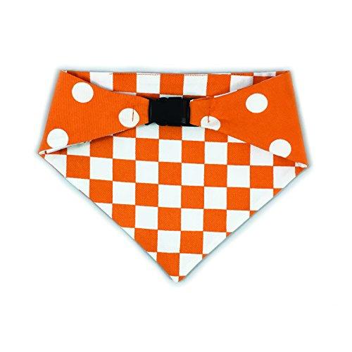 Pup Bandana (Uptown Pups Reversible Bandana Classic Orange (X-Large))