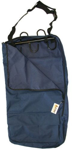 Deluxe Bridle Halter Tote Bag with Removable Tack Rack Navy Blue