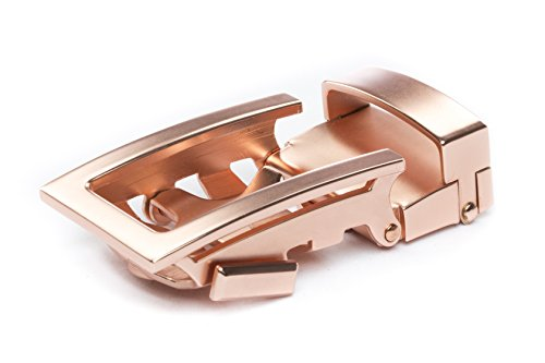 (Anson Belt & Buckle - Men's Traditional Buckle (Buckle Only) (Rose Gold))