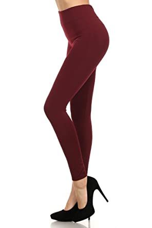 eeb7d2b282295 MOPAS 6-pack: Seamless Fleece Lined Leggings - Stretchy Multi Colors ...