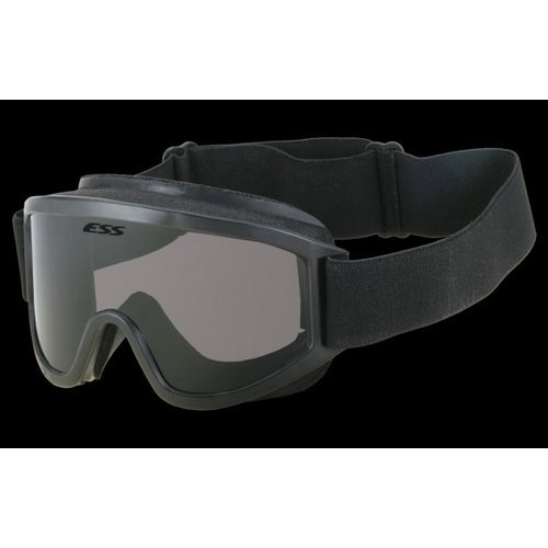 - ESS ESS Tactical XT Military Goggles with Black Frame, Clear Lens and 40mm Strap - 740-0243