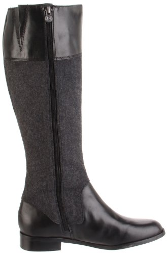 Boot Black Grey Etienne Gilbert Women's Dark Riding Aigner wv0wfxIAqX