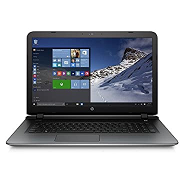 HP 17-g121wm 17.3 Pavilion 17 Laptop (AMD quad-core A10-8700P 1.8GHz up to 3.2GHz, 8GB RAM, 1TB Hard Drive, SuperMulti DVD Burner, HD Webcam, Windows 10 Home) (Certified Refurbished)