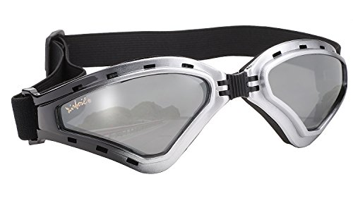 Pacific Coast Airfoil Goggles (Silver to Black Fade Frame/Silver Mirror - Eyewear Pacific