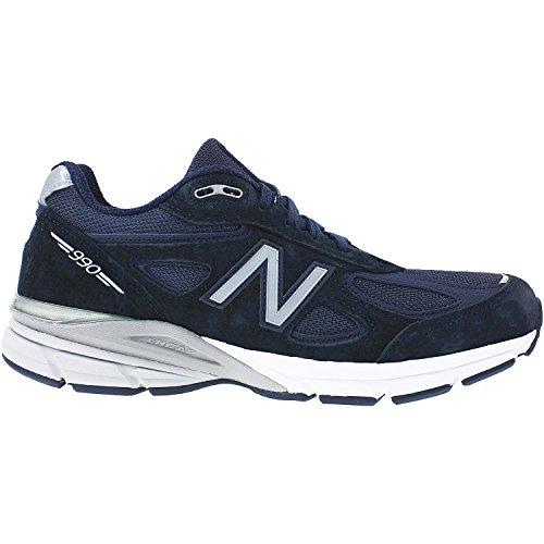 New Balance Men's M990V4 Running Shoe, Blue, 12 6E - Usa Shopping In Online