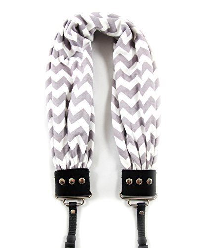 Capturing Couture SCARF-CVGG Chevron Scarf Collection Camera Strap, -