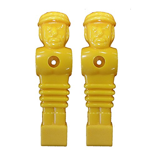 (2 Yellow Imperial Replacement Foosball Men)