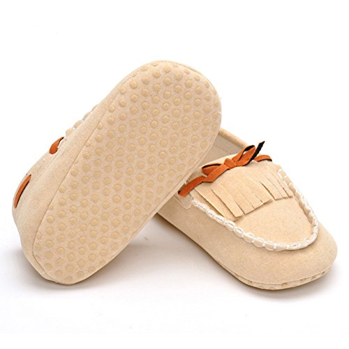 Fire FrogLoafers-shoes - Mocasines para niño Beige