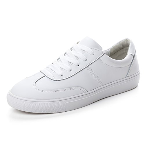 Versión Coreana En Los Zapatos De Primavera Poco Blanco,Las Mujeres Skate Zapatos,Cuero Zapatos Casuales,Manoletinas,Zapatos Deportivos,Los Zapatos De Las Mujeres A