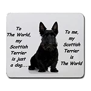 SCOTTISH TERRIER DOG PUPPIES MOUSE MAT PAD MOUSEPAD NEW