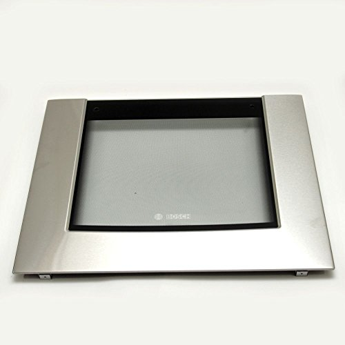 Bosch 00479360 Wall Oven Door Outer Panel Assembly (Stainless) by Bosch
