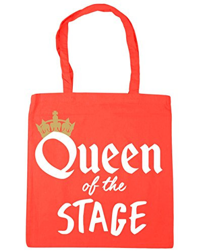 Shopping of the Beach HippoWarehouse Coral litres 42cm Gym Stage x38cm Bag Tote Queen 10 UX55nqZa