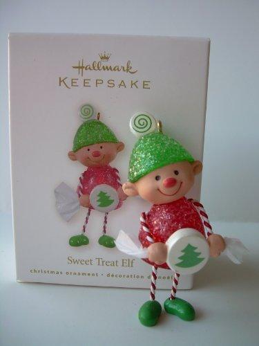 2008 Hallmark SWEET TREAT ELF ORNAMENT CLUB KOC - Christmas Ornament 2008 Tree