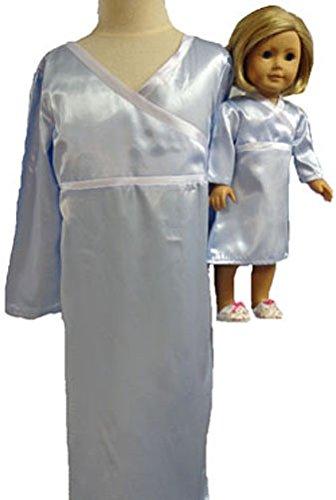 Matching Girls人形ClothesブルーNightgownサイズ7 B00ZSLJXHM Matching B00ZSLJXHM, タブタブ&景品太郎:6f3dc8fe --- arvoreazul.com.br