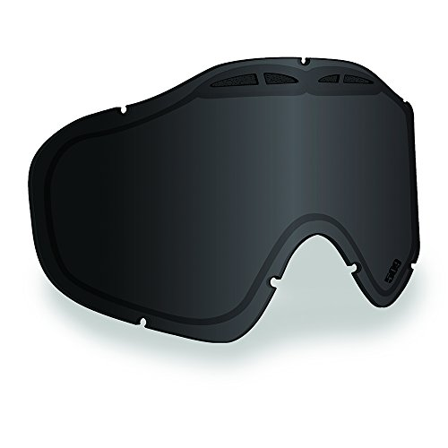 Dual Pane (509 Sinister X5 Anti-Fog Dual Pane Replacement Goggle Lens Snowmobile - Smoke Tint)