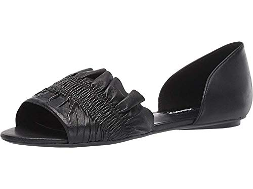 Nine West Womens Babealert Flat Black 6.5 M