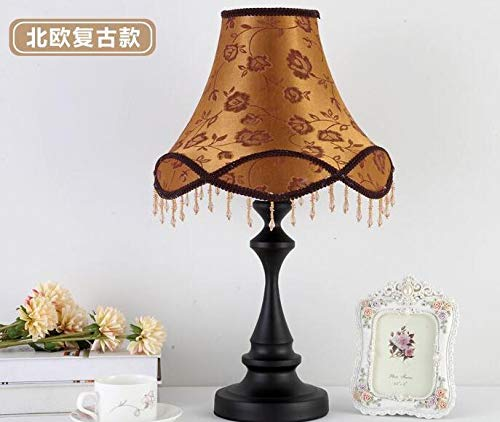 Best to Buy Table Lamp,European Style Bedside Lamp Princess Pastoral Creative Wedding Luxury Restaurant Decoration Table Lamp (Luxurious Style) by Best to Buy (Image #3)