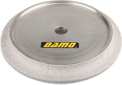 "10/"" Vacuum Brazed Diamond Profile Wheel 4 Tile Saw// B 3//8/"" Demi Bullnose"