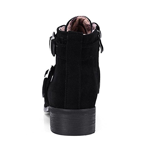 Zipper Zipper Black Women Black Coolcept Booties Coolcept Women Coolcept Women Booties 6ggzp1UcWn
