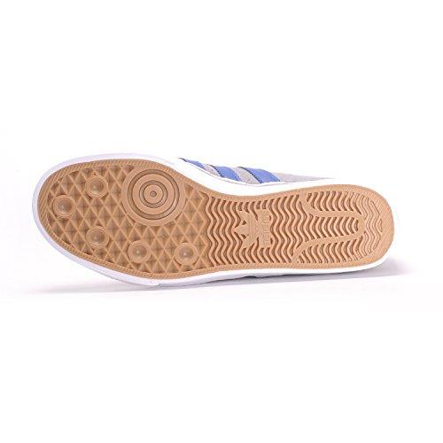 Adidas Original Mens Adi-lätthet Premiere Mode Gymnastiksko Grå 3 / Kollegialt Royal / Skodon Vit