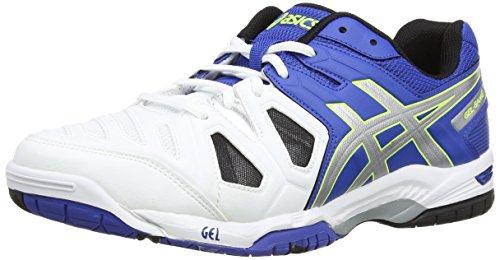 blue Chaussures Gel Asics 5 silver Yellow De game 4293 Tennis Homme flash Bleu 88apq