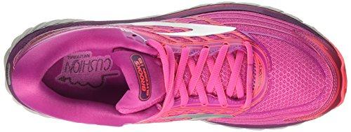 Femme Glycerin Rose Gymnastique Brooks 1b608 Chaussures de 15 Pinkpurplesilver d1wxPqX