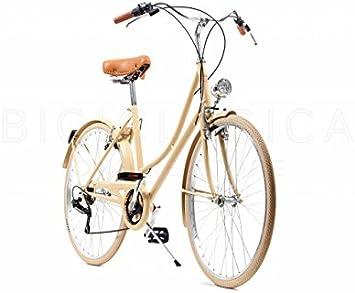 Capri Bicicleta Urbana Valentina Camel 6 Velocidades: Amazon.es: Deportes y aire libre