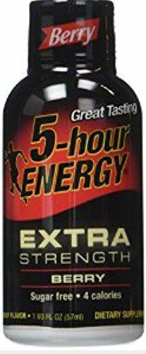 5-hour Energy Extra Strength Berry, 1.93 Oz. (Pack of 10)