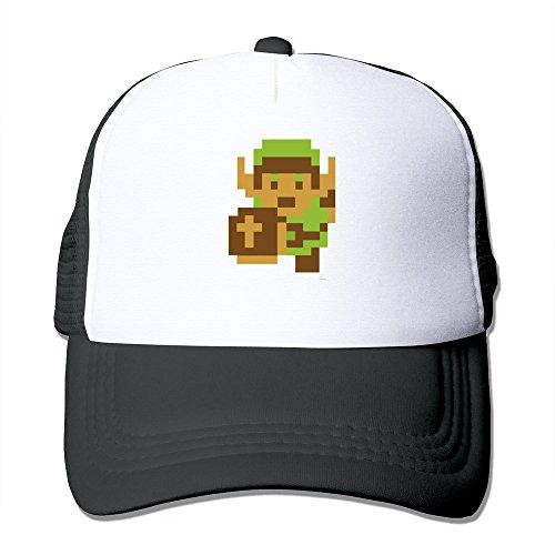 [The Legend Of Zelda Majora's Mask Trucker Mesh Cap Black] (Hockey Mask For Sale)