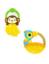 Bright Starts Vibrations Teether, (Style may vary) BOBEBE Online Baby Store From New York to Miami and Los Angeles