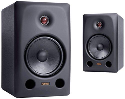 Fostex PX-6 Professional Monitor Speakers, Set of 2, Black