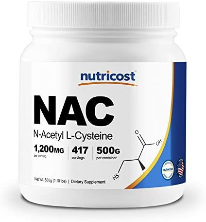 Nutricost N Acetyl L Cysteine Powder Grams product image