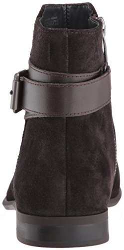 Calvin Klein Men's Lorenzo Calf Suede Ankle Bootie Dark Brown fashionable online factory outlet cheap online shopping online high quality best store to get for sale sale online shopping 8qyZjPWXM