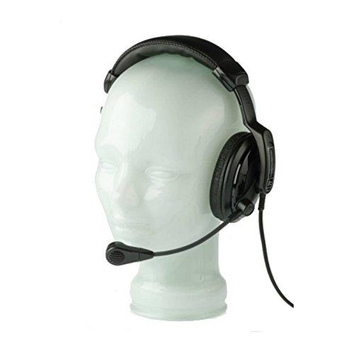 (Pro Intercom SMH310 | Single Muff 200 Ohm Earspeaker 200 Ohm Mic Headset)