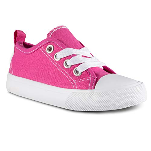 ZOOGS Kid's Fashion Sneakers,Pink,8 M US Toddler]()