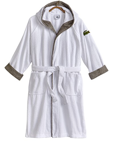 d4b0c05e64 Lacoste Signature Hood Bathrobe