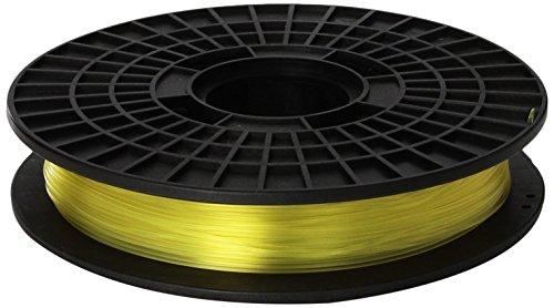 CoLiDo d'impression 3D PLA 1.75mm Filament Spool, jaune translucide 0,5 kg LCD009YQ7J